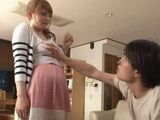 While Talking To Her Stepson He Unexpectedly Grabbed Her Big Tits