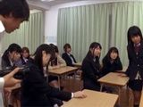 Group Of Schoolboys Hypnotise All Girls From Class After School And Make Orgy Party
