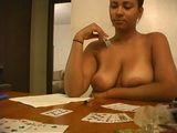 It All Started As An Innocent Strip Card Game But Ended with Her Ass Being Fucked