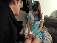 18yo Japanese Schoolgirl In Uniform Fucked In The Car
