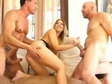Hot Milf Double Penetration With Husband And Neighbor