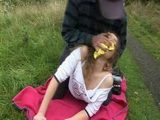 Teen On Picnic Gets Chloroformed and Violated By Old Guy