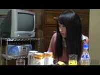 Japanese Mom is Fucked by Boyfriend and Daughter Rubs Watching Them