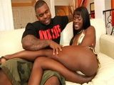 Hot Ebony Pornstar Anna Foxxx Hard Fucked With BBC