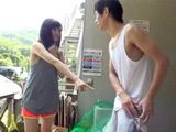 Father Sent His Daughter To Throw Out Trash But He Not Knowing That Perv Neighbor Will Unwilling Fuck His Darling