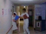 Japanese Nurse On Duty Grabbed A Doctor And Dragged To An Office Where Fucked Him Hard