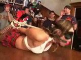 Teen Hooker tied Up And Fucked On College Brotherhood Party