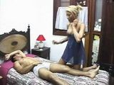 Uncles Wife Wake Up Sleeping Boy And Gets Anal