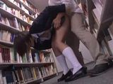 Japanese Schoolgirl Gets Violated In A School Library By Her Classmate