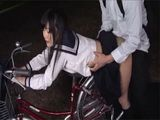 Japanese Schoolgirl Got  With Her Clasmate And Fucked In Public