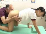 Japanese Teen Hitomi Miyano Taken Advantage Of By Old Pervert Masseur
