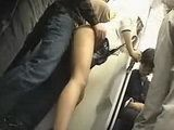 Young Officegirl groped in Train