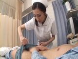 Busty Nurse Julia Nursing Her Shy Patient