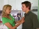 Girlfriends Divorced MILF Mom Seduced Confused Boy In The Kitchen