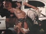 Terrified Screaming Woman Gets Brutally Gangbanged By Drunk Gang Members