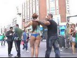 Rough Humiliation In Public