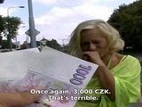 Czech Amateur Granny Get Indecent Proposal From Stranger And Couldnt Afford To Miss It