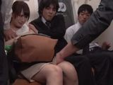 Poor Girl Was Unwilling Made To Suck Man s Cock In The Middle Of Full Traing  Hatsukawa Minami