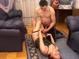 Horrible Drunkard Stepfather Wants Stepdaughters Teen Pussy Again