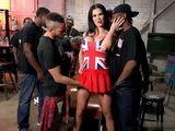 Busty British Slut Get In Dangerous Ghetto