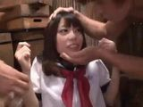 Japanese Schoolgirl Kawana Misuzu Gets Group Fucked And Humiliated By A Bunch Of Elder Men