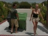 Busty Milf Neighbor Thanked To Young Boy With One Good Fucking
