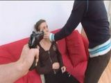 With A Gun Pointed To Her Head Terrified Girl Must Obey Their Demands