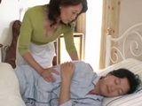 Stepmom Hinako Haruno Regrets For Waking Up Her Teenage Stepson Today