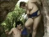 Mature Fucked In A Cave On Summer Vacation