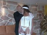 Old Husband Has Special Bday Present For His Cock Hungry Milf Wife