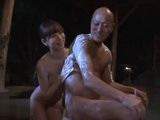 Japanese Wife Hashimoto Ryou Having Fun With Her Neighbor While Husband Is Away