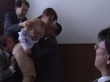 Molesting Girl By Bunch Of Older Collegues Is Not Exactly How She Imagine First Day On Job  Uchimura Rina