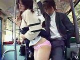 Japanese Schoolgirl Bus Tekoki