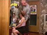 Daddy Would Love To Convince His Cute Stepdaughter To Stay With Him Tonight