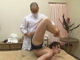 Flexible Teen Gets More Then Just A Massage
