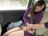 Taxi Driver And His Friend Bump On A Hot Asian Chick And Instead Of Money She Gives Them Good Blowjob