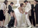 Surprised Bride Did Not Know That In The Family Of Her Future Husband Have One Weird Custom Fucking Before An Altar With