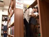 Japanese Schoolgirl Gets Fucked In A School Library By Her Classmate