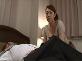 Busty Japanese Wife Kazama Yumi Couldnt Resist A Boner In Her Husbands Business Partners Pants Who Came To Dinner
