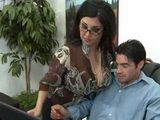 Mature MILF Secretary Gets Fucked In Office By Young Boss