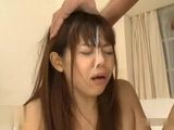 Japanese Girl Sasaki Reina Gets Hard Face Fucked By Two Guys