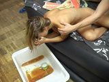 Boozed Teen Passed Out Drunk Gets Fucked And Puke