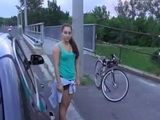 Busty Teen Gets Fucked On A Highway By Guy She Just Met