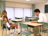 Provocative Schoolgirl Aika Will Regret For Teasing Too Hard Geek Professor